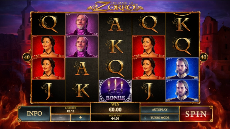 the-mask-of-zorro-slot