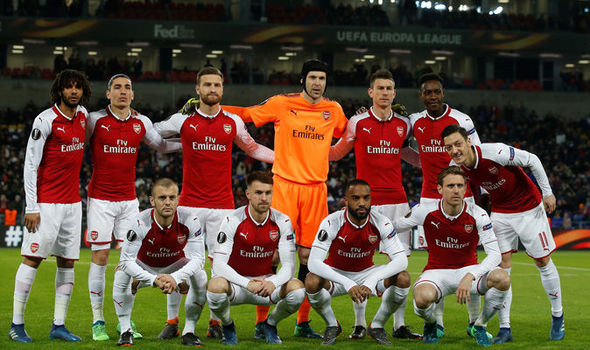 Arsenal-Team
